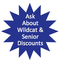 Ask about Wildcat Senior Discounts - Wildcat Plumbing Lexington KY